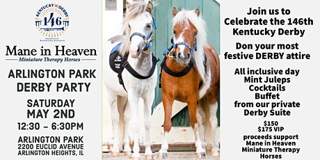 Mane in Heaven Derby Day Party at Arlington Park tickets