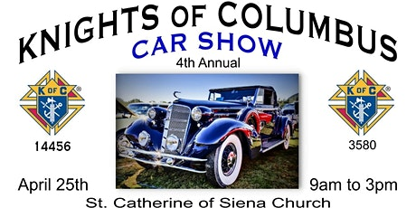 CAR SHOW Knights of Columbus 4th Annual Clearwater Car Show tickets