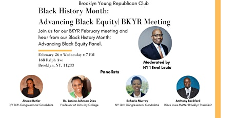 Black History Month: Advancing Black Equity With Errol Louis | BKYR Meeting tickets