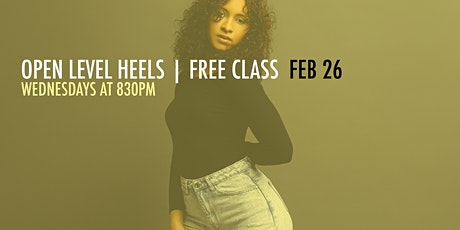 FREE CLASS | HEELS W/ EDITH tickets