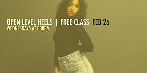 FREE CLASS | HEELS W/ EDITH