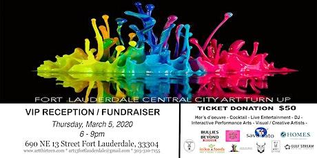 ART13 - VIP / Fundraiser Reception tickets