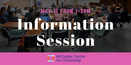 Student Information Session tickets