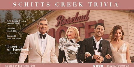 Schitt's Creek Trivia - Boston tickets