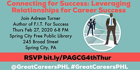 Connecting for Success: Leveraging Relationships for Career Success tickets