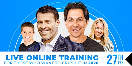 LIVE CAST: TONY ROBBINS & DEAN GRAZIOSI (Corpus Christi) *THURSDAY 2/27/20* tickets