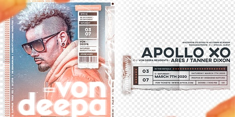 VON DEEPA [at] SITE 1A tickets