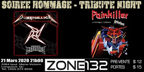Deathallica & Painkiller Bar Zone 132 billets