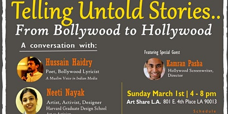 Telling Untold Stories: From Bollywood to Hollywood tickets