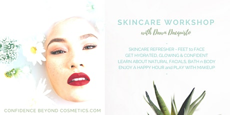 April - Spring Skincare  Workshop tickets