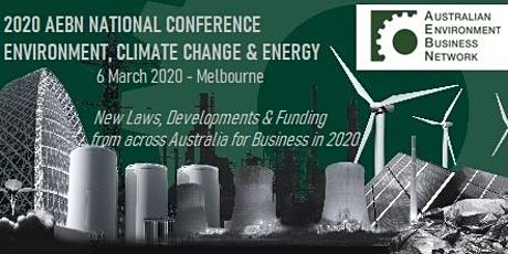2020 AEBN National Conference:  Environment, Climate Change and Energy tickets