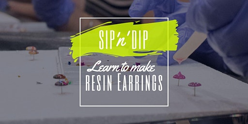 Riverlink Ipswich - Sip 'n' learn to make moulded resin earrings!