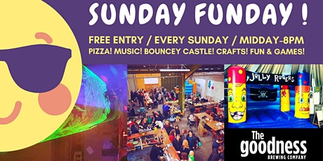 Sunday Funday! Music, Pizza, Fun and Games for the Whole Family! tickets