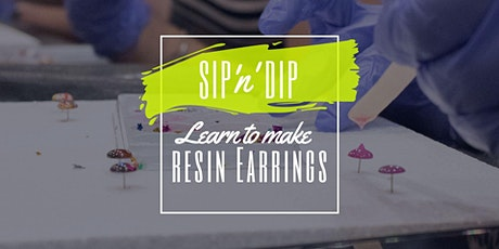 Jets Ipswich - Grab a glass of wine and learn to make resin earrings! tickets