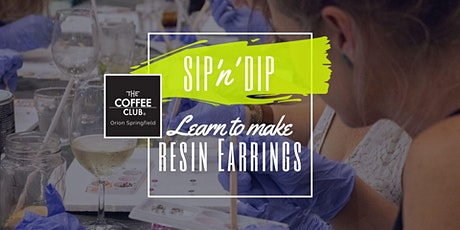 Orion Springfield - Sip 'n' learn to make moulded resin earrings! tickets