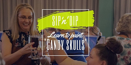 Moselles Springfield - Sip 'n' learn to paint 'Candy Skulls' tickets