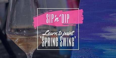 Jets Ipswich - Grab a glass of wine and learn to paint 'Spring Swing'! tickets