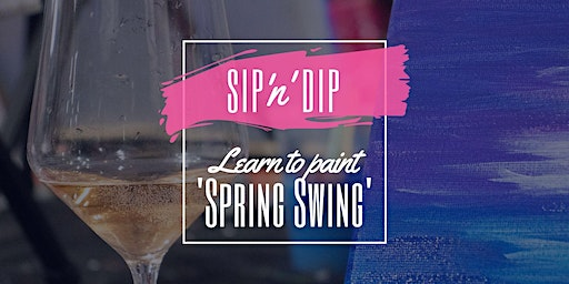 Jets Ipswich - Grab a glass of wine and learn to paint 'Spring Swing'!