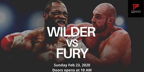 Wilder vs Fury 2 live at 17 Fenwick (23 Feb, Sun at 10AM) tickets