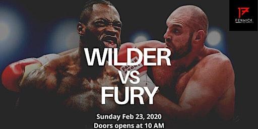 Wilder vs Fury 2 live at 17 Fenwick (23 Feb, Sun at 10AM)