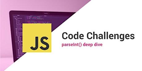JavaScript Coding Challenge Night tickets