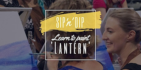 Jets Ipswich - Grab a glass of wine and learn to paint 'Lantern'! tickets