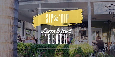 Moselles Springfield - Grab a glass of wine and learn to paint 'Beach' tickets