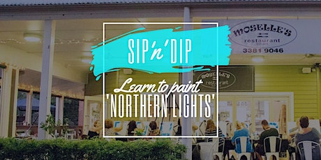 Moselles Springfield - Sip 'n' learn to paint 'Northern Lights' tickets