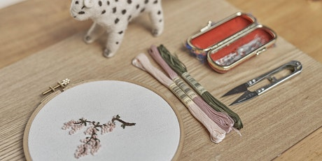 Weekend social: introduction to embroidery with Seoul fashion designer tickets