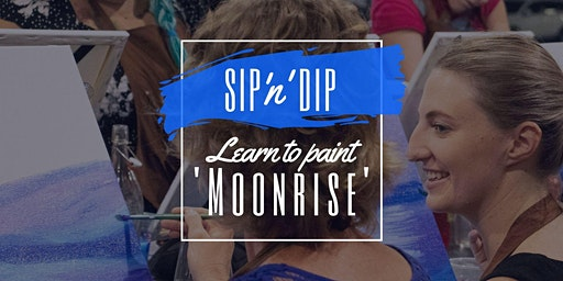 Buderim Coffee Club - Grab a wine and learn to paint 'Moonrise'