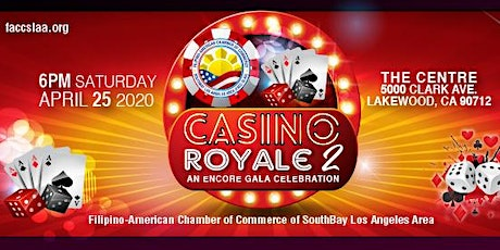 Casino Royale 2, An Encore Presentation by FACCSLAA tickets