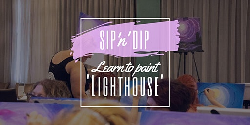 Moselles Springfield - Grab a glass of wine and learn to paint 'Lighthouse'