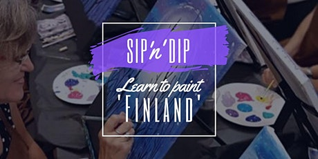 Jets Ipswich - Grab a glass of wine and learn to paint 'Finland'! tickets