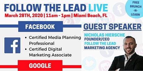 Follow The Lead LIVE: Free Brunch-N-Learn on Automated Lead Generation tickets