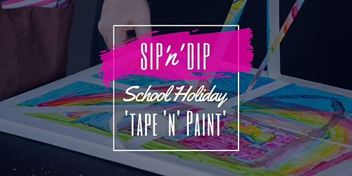 Jets Ipswich - School Holiday Art Workshop - Learn to tape and paint!