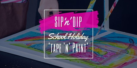 Jets Ipswich - School Holiday Art Workshop - Learn to tape and paint! tickets