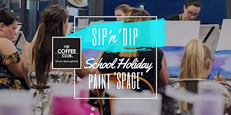 Orion Springfield - School Holiday Art Workshop - Learn to paint 'Space'! tickets