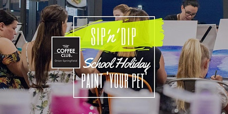 Orion Springfield - School Holiday Art Workshop - Paint your pet! tickets