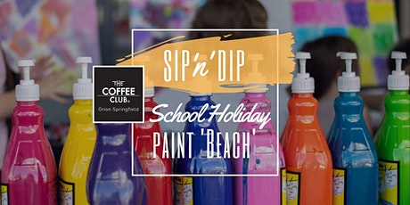 Orion Springfield - School Holiday Art Workshop - Learn to paint 'Beach'! tickets