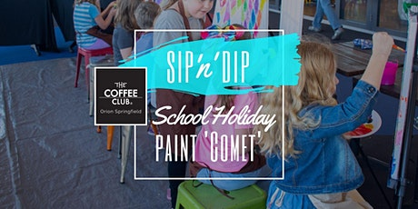 Orion Springfield - School Holiday Art Workshop - Learn to paint 'Comet'! tickets