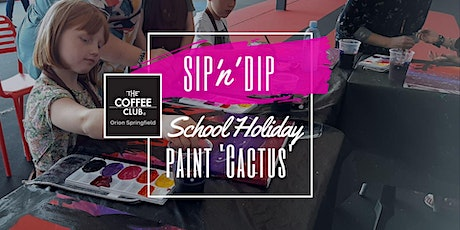 Orion Springfield - School Holiday Art Workshop - Learn to paint 'Cactus'! tickets