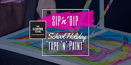 Orion Springfield - School Holiday Art Workshop - Tape & Paint! tickets