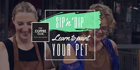 Orion Springfield - Learn to paint your pet 'Andy Warhol style' tickets