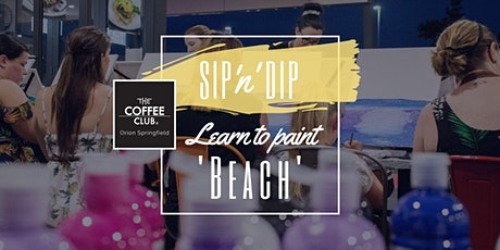 Orion Springfield - Sip 'n' learn to paint 'Beach' tickets