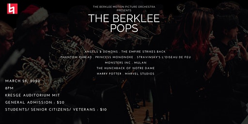 BMPO Presents THE BERKLEE POPS - A Celebration of Music in Film