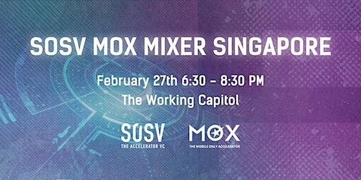 SOSV MOX Mixer Singapore