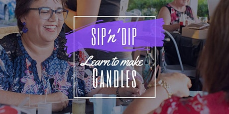 Arizona Redbank - Grab a glass of wine and learn to pour candles! tickets
