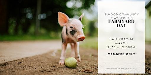 Farmyard Day - Members Event