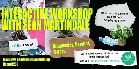 Interactive Workshop with  Sean Martindale tickets