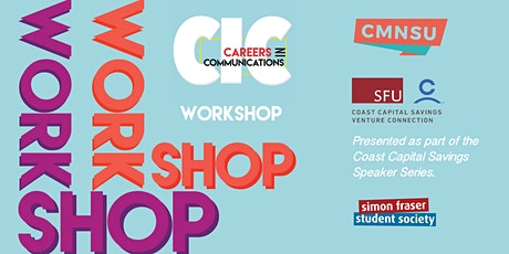 CMNSU's Careers In Communications: The Workshop tickets